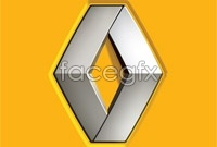 Link toRenault car logo design vector