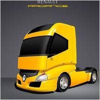 Link toRenault radiance truck psd