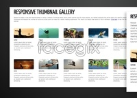Link toResponsive thumbnail gallery