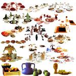 Link toRestaurant elements psd