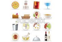 Link toRestaurant kitchen icon vector