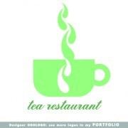 Link toRestaurant logos design elements vectors set 02