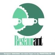 Link toRestaurant logos design elements vectors set 05