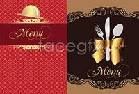 Link toRestaurant menu cover design-vector illustration