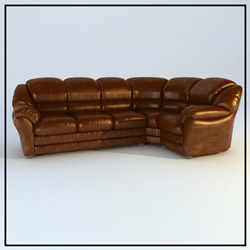 Link toRestoring ancient ways cortical people sofa brown 3d models