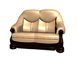 Link toRestoring ancient ways is aureate woodiness double sofa chair 3d models