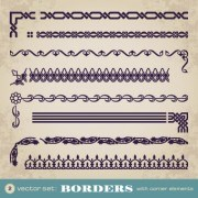 Link toRetro border decoration element vector 03
