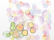 Link toRetro bubble vector background free