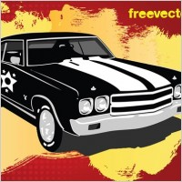 Link toRetro car vector