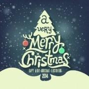 Link toRetro christmas creative vector backgrounds 03