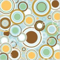 Link toRetro circles vector pattern