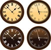 Link toRetro clock vector