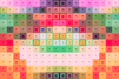 Link toRetro colorful mosaic background vector