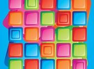 Link toRetro design squares vector free