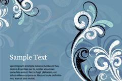 Link toRetro elegant pattern vector