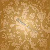 Link toRetro floral background vector wallpaper