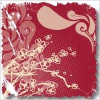 Link toRetro flower card 01 vector