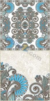 Link toRetro flower cards vector illustration