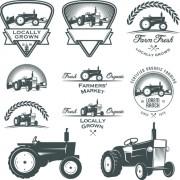 Link toRetro labels and emblems set vector 07 free
