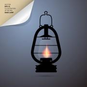 Link toRetro lamp vector 04 free