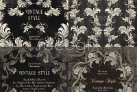 Link toRetro royal style pattern