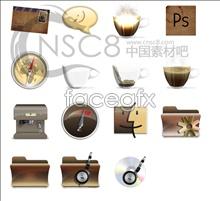 Link toRetro system desktop icons