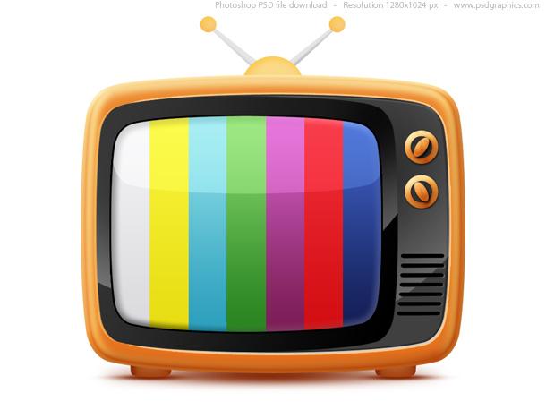 Link toRetro tv icon (psd)