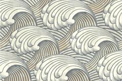 Link toRetro wave pattern vector