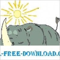 Link toRhino sunbathing