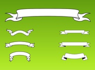 Link toRibbon banners vector free