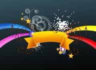 Link toRibbon decoration vector free