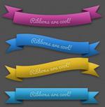 Link toRibbon templates psd