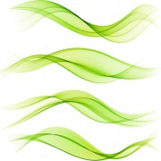 Link toRibbon waves design vector 03 free
