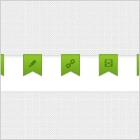 Link toRibbons for blog articles (psd)