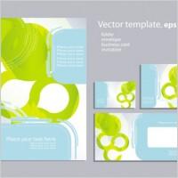 Link toRing element design background 02 vector