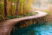 Link toRiver wooden bridge scenic hd pictures