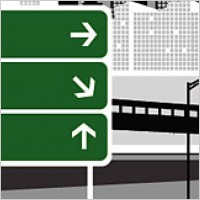 Link toRoad signpost