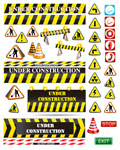 Link toRoad warning labels