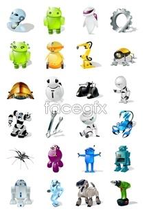 Link toRobot computer icons