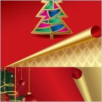 Link toRoll angle of the christmas card vector