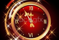 Link toRoman clock vector graphics