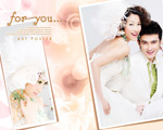 Link toRomantic and elegant wedding dress psd