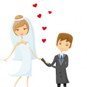 Link toRomantic bride and groom design vector 02 free