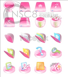 Link toRomantic cherry blossom icon