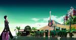 Link toRomantic city real estate psd