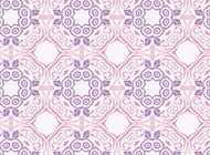 Link toRomantic floral pattern vector free