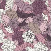 Link toRomantic flowers vector pattern