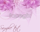Link tovector flowers pink Romantic
