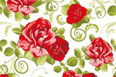 Link toRomantic rose background vector