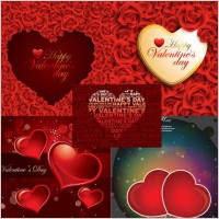 Link toRomantic roses and heartshaped background vector